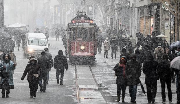 İstanbulda yarın akşam kar bekleniyor