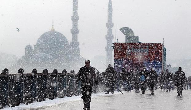 İstanbula hafta sonu kar geliyor