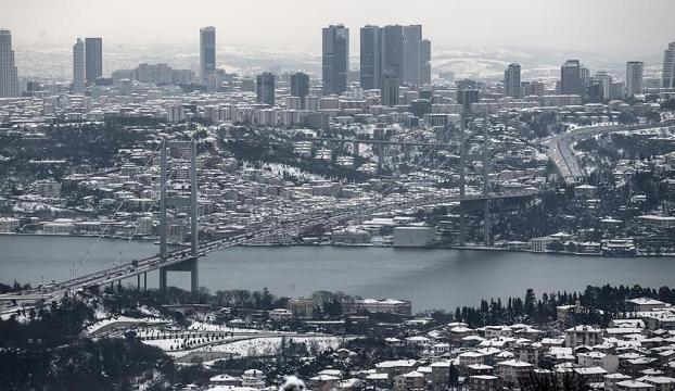 İstanbulda 4 gün boyunca kar var