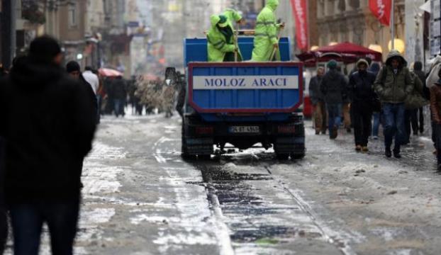 İstanbul kara kışa hazır