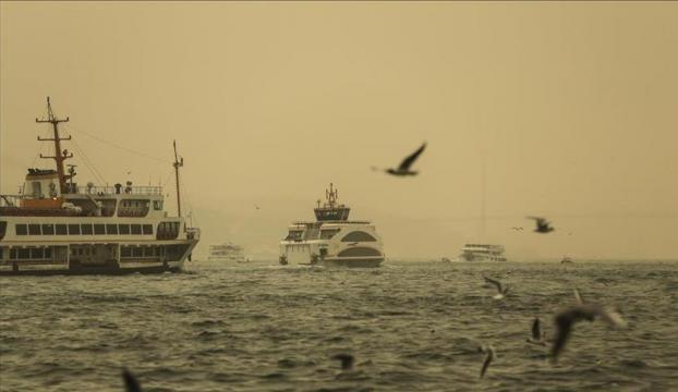 Marmara Bölgesi için toz uyarısı