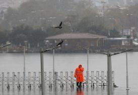 'Isı adası' İstanbul'da beklenen karı yağmura çevirdi