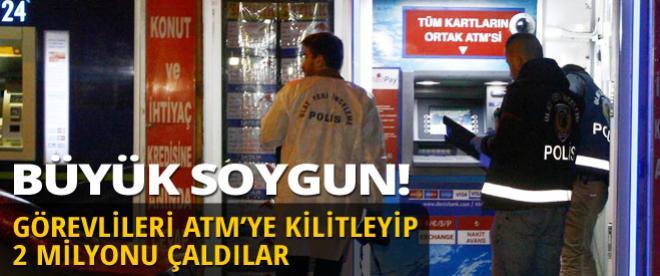 İstanbul'da 2 milyonluk soygun