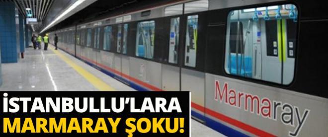 İstanbullu'lara Marmaray şoku