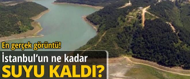 İstanbul'un ne kadar suyu kaldı?