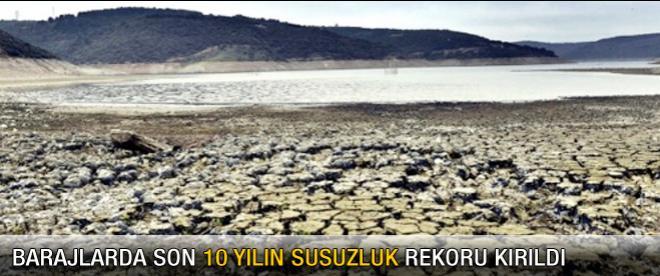 İşte İstanbul barajlarında susuzluk oranı
