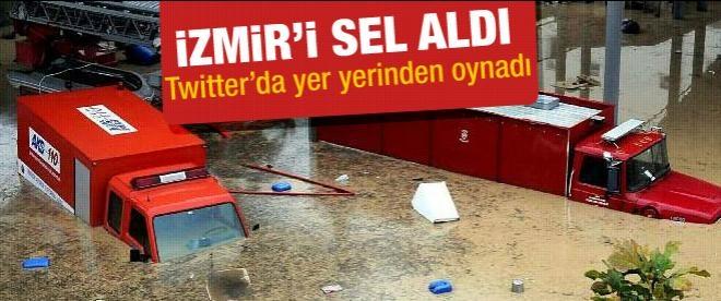 İzmir su altında