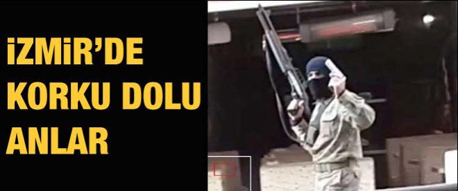 İzmir'de silahlı adam paniği