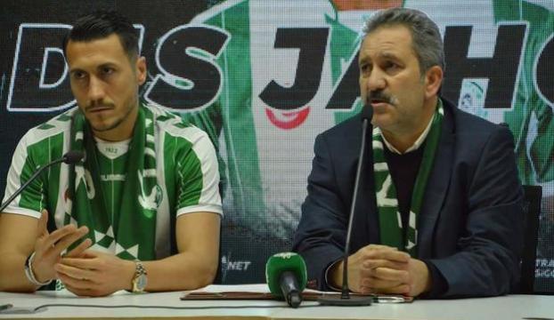 Jahovicten Konyaspora 3,5 yıllık imza