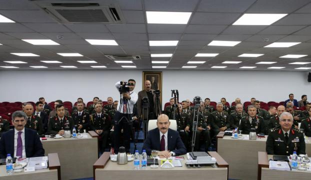 Jandarmada rütbe terfi töreni yapıldı