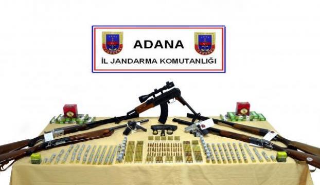 El konulan silah ve mühimmat ilgili kurumlara dağıtılacak