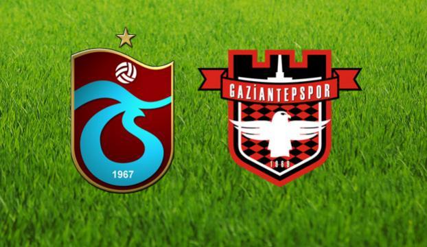 Trabzonspor-Gaziantepspor maçında ilk 11ler belli oldu