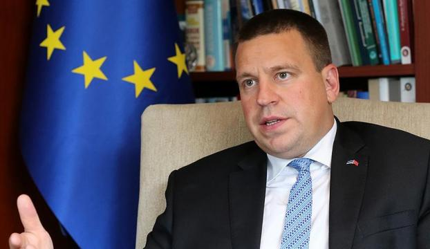 Estonya Başbakanı Ratas: Estonya Türkiyenin AB üyesi olmasını destekliyor