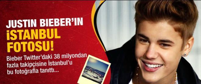 Justin Bieber'in paylaştığı İstanbul fotoğrafı