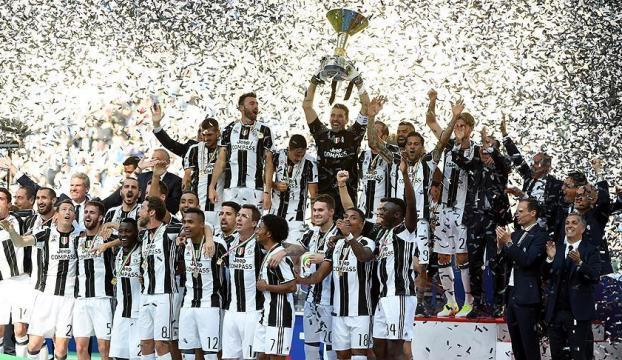 İtalyada şampiyon bir kez daha Juventus