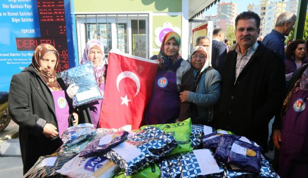 Kadın üreticilerden Mehmetçike moral desteği
