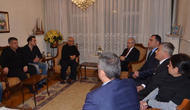 Kılıçdaroğlundan, Talipoğlunun ailesine taziye ziyareti