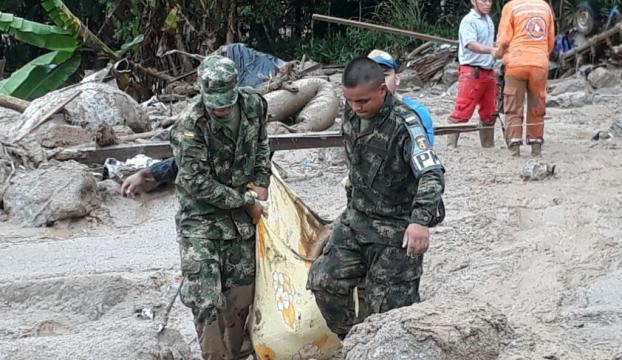 Kolombiyada sel felaketinde ölenlerin sayısı 250yi geçti