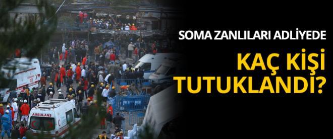Soma soruşturması kapsamında mahkemeye sevk edilen 5 kişi tutuklandı