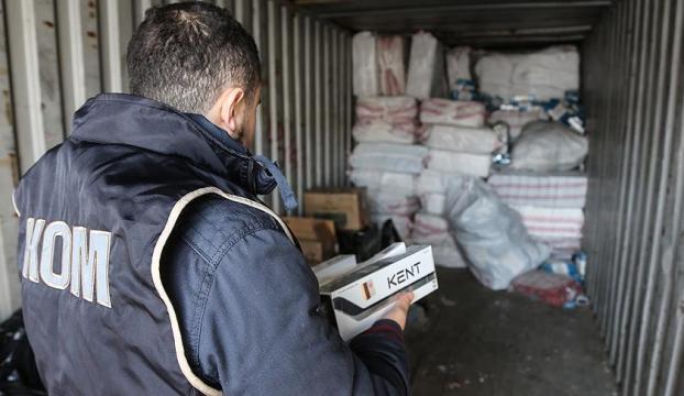 PKKya kaçak sigara darbesi