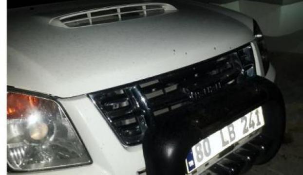 Belediye Başkanının makam otomobili kundaklandı