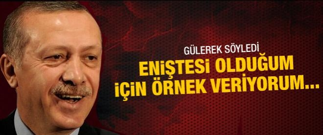 Erdoğan Siirt'ten örnek verdi