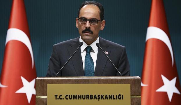 Cumhurbaşkanlığı Sözcüsü Kalın: İdlib bölgesinde ağırlıklı olarak Türkiye ve Rusya yer alacak