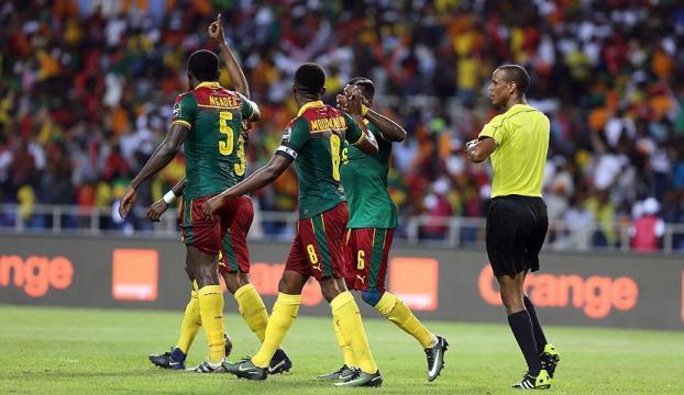 Afrika Kupası Mısırı yenen Kamerunun