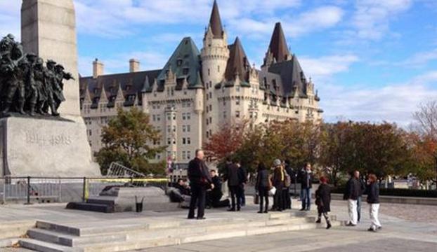 Parlamento binasına silahlı saldırı: 1 yaralı