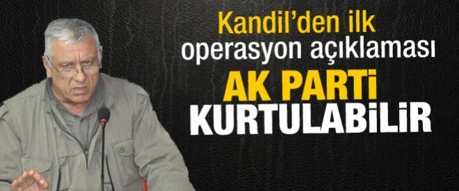 Kandil'den yolsuzluk operasyonu yorumu
