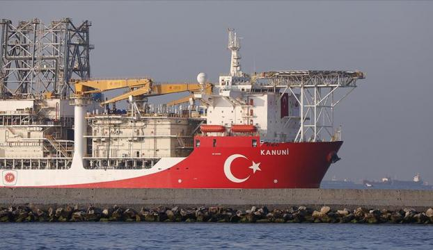 Kanuni sondaj gemisi Karadenize uğurlandı