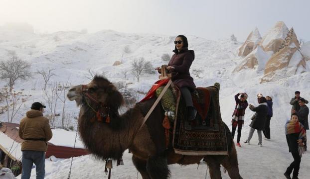 Kapadokyada yeni yıl yoğunluğu