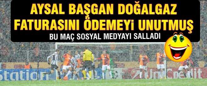 Galatasaray Juventus maçı sosyal medyayı salladı