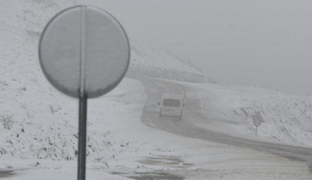 Doğu Karadenizde kar yağışı