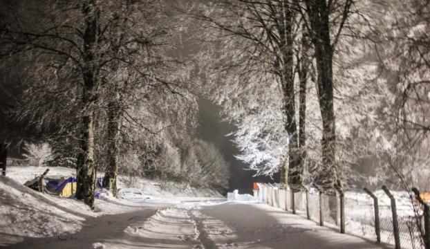 Karadeniz bölgesinde yoğun kar yağışı