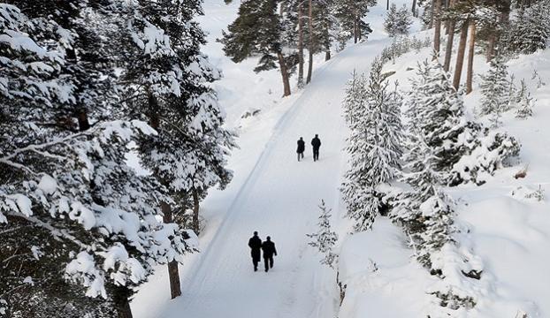 Yüksekovaya kar yağdı