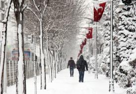 Marmara'da kar yağışı