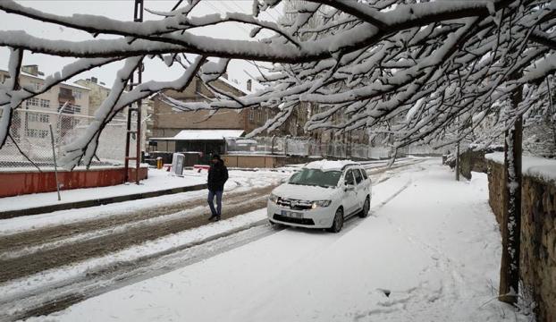 Baharda Doğuya kar sürprizi