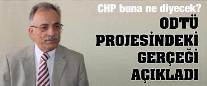 ODTÜ projesi CHP'nin çıktı