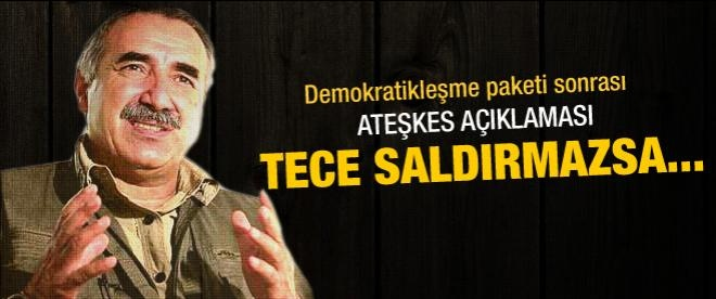 Murat Karayılan'dan ateşkes açıklaması