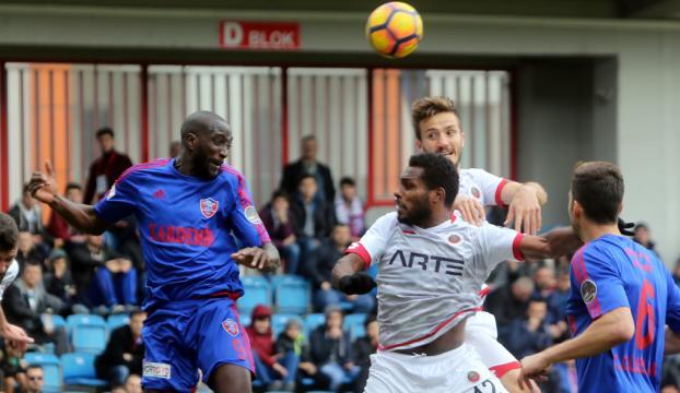 Kardemir Karabükspor: 1 Gençlerbirliği: 0