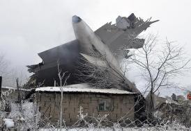 Türk kargo uçağı Bişkek'te düştü: 32 ölü, 4 yaralı
