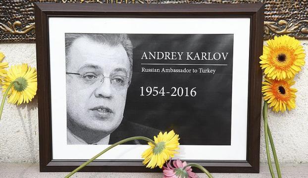 Karlov suikastinde yeni gelişme