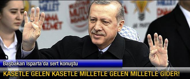 Başbakan Erdoğan, Isparta'da