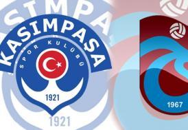 Kasımpaşa, Trabzonspor'a konuk oluyor