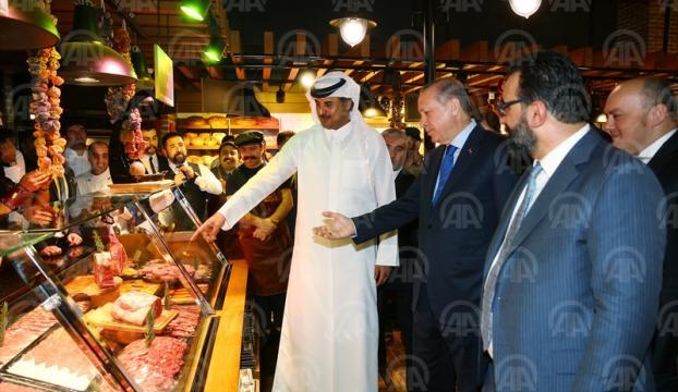 Türk restoranı ilgi odağı oldu
