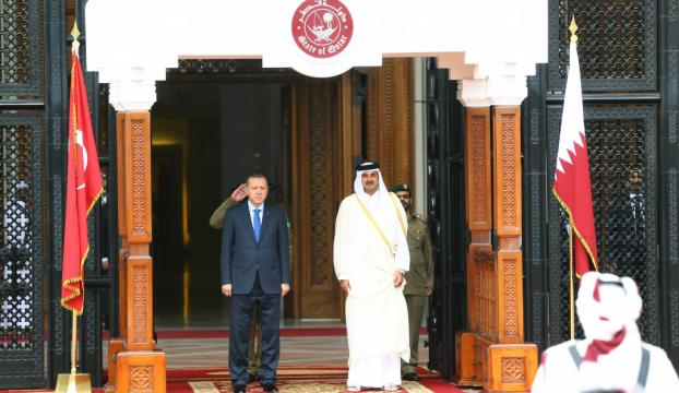 Cumhurbaşkanı Erdoğanın Katar ziyareti Körfez basınında
