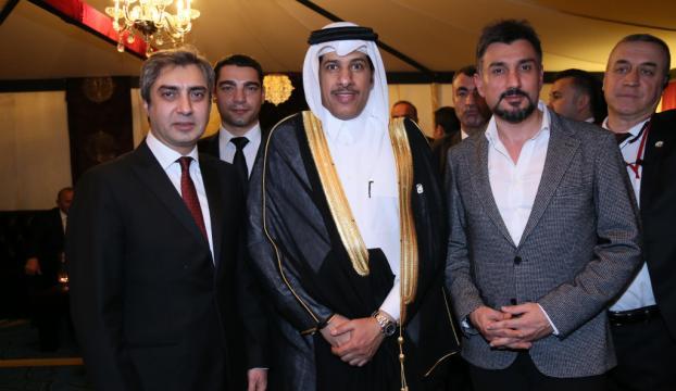 Necati Şaşmaz, Katar Milli Günü resepsiyonuna katıldı