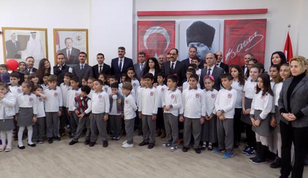 Katarda Türk okulu açıldı