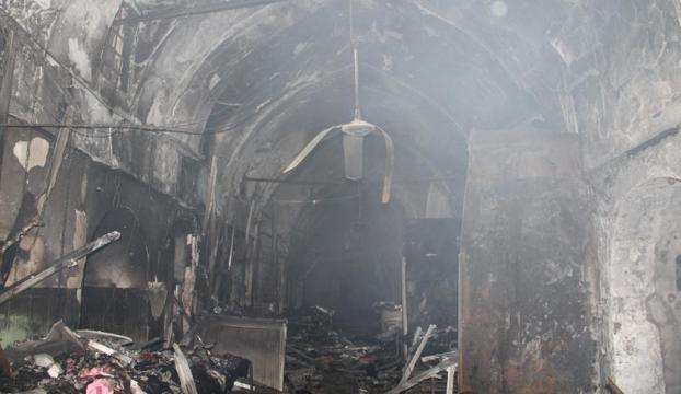 Kerkükteki Kayseri Çarşısında çıkan yangında milyar dolarlık altın eridi